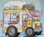 Mark Todd's Bubba Q truck in Food Trucks!