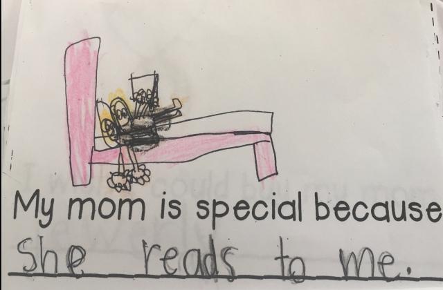 Max and Mama reading