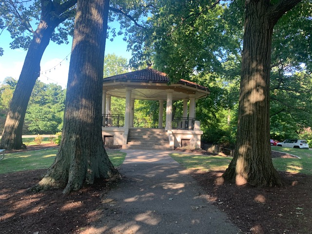 bandstand in park